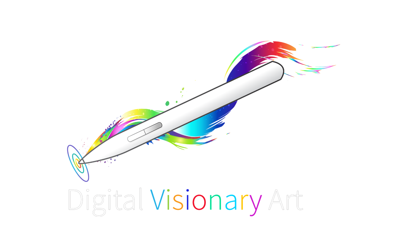 logo design louis dyer visionary digital artist