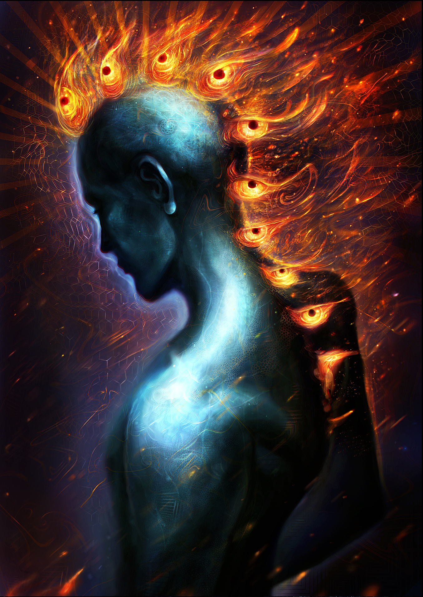 Real Life Twin Flame Separation And Surrender: Louis Dyer Digital Visionary Artist