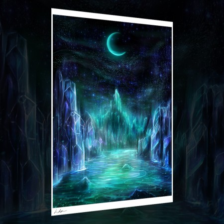 Midnight realms print thumbnail