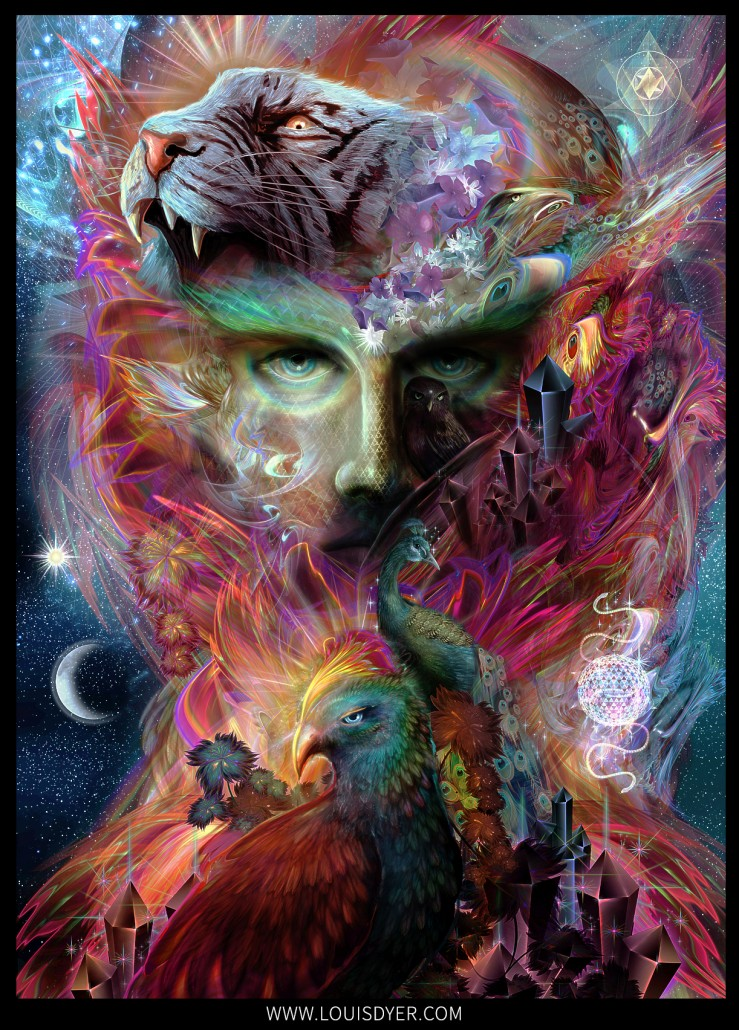 The Shapeshifter Louis Dyer Visionary Digital Artist