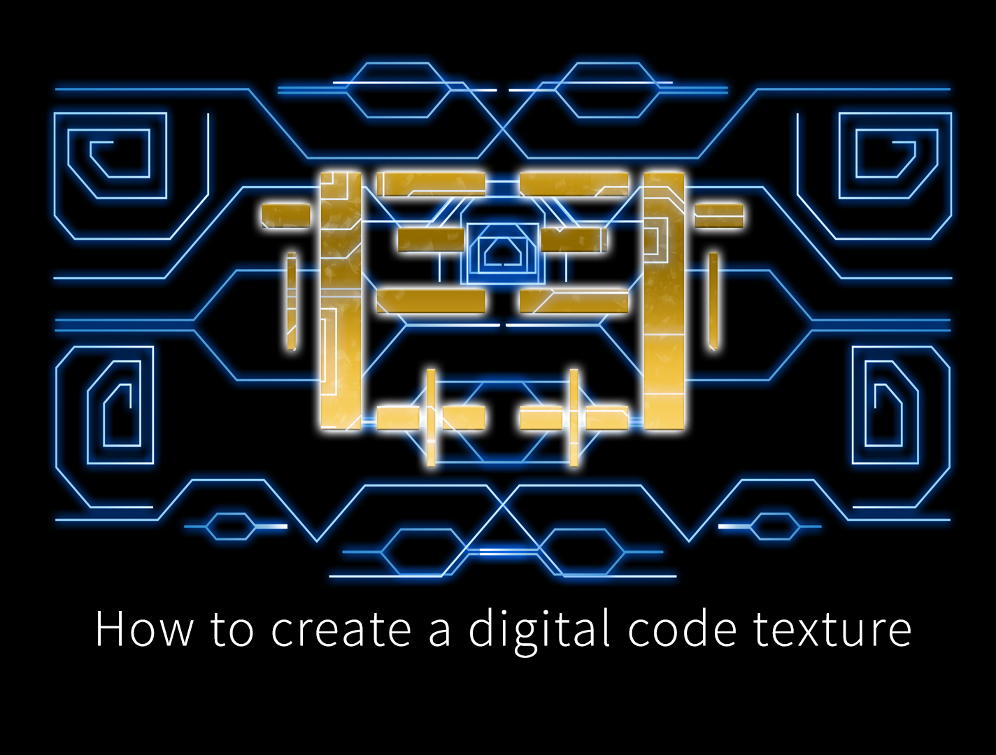 digital code texures