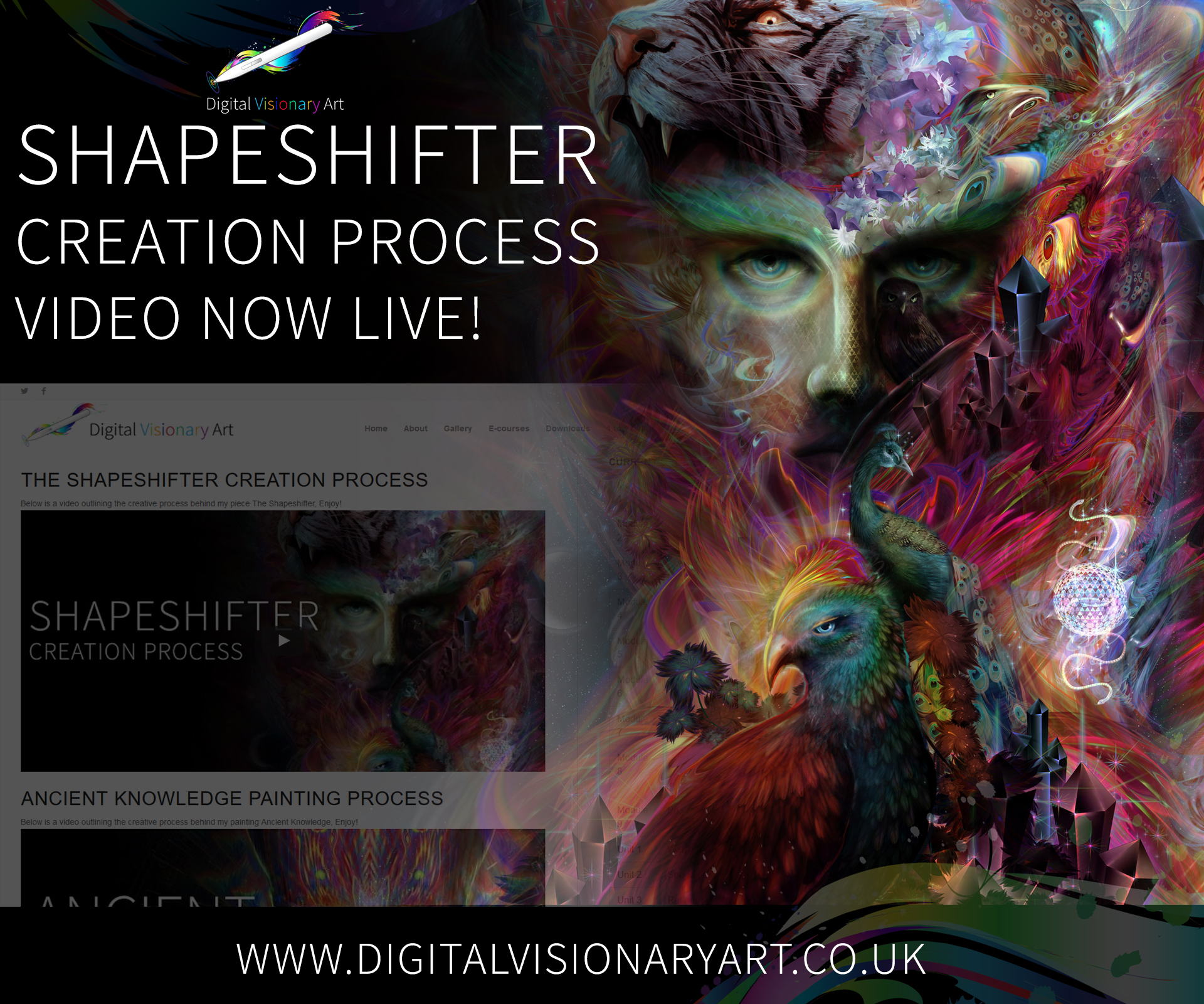 shapeshifter video now live!