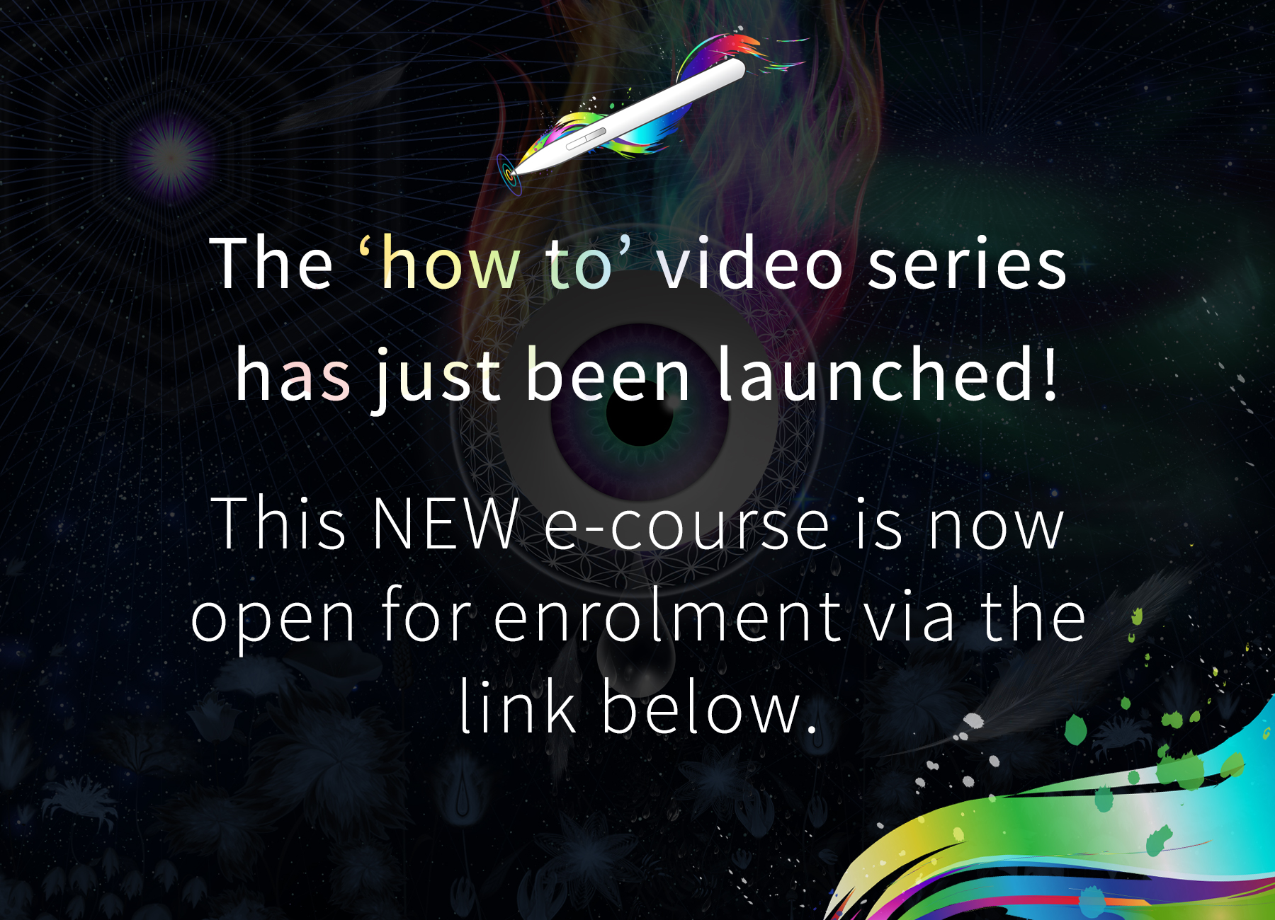how to course launched