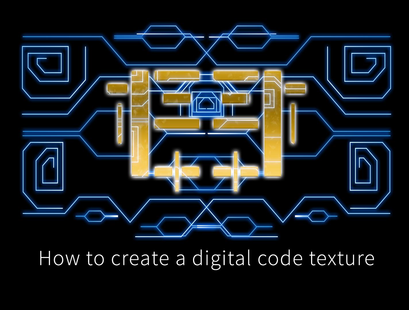 digital code texures