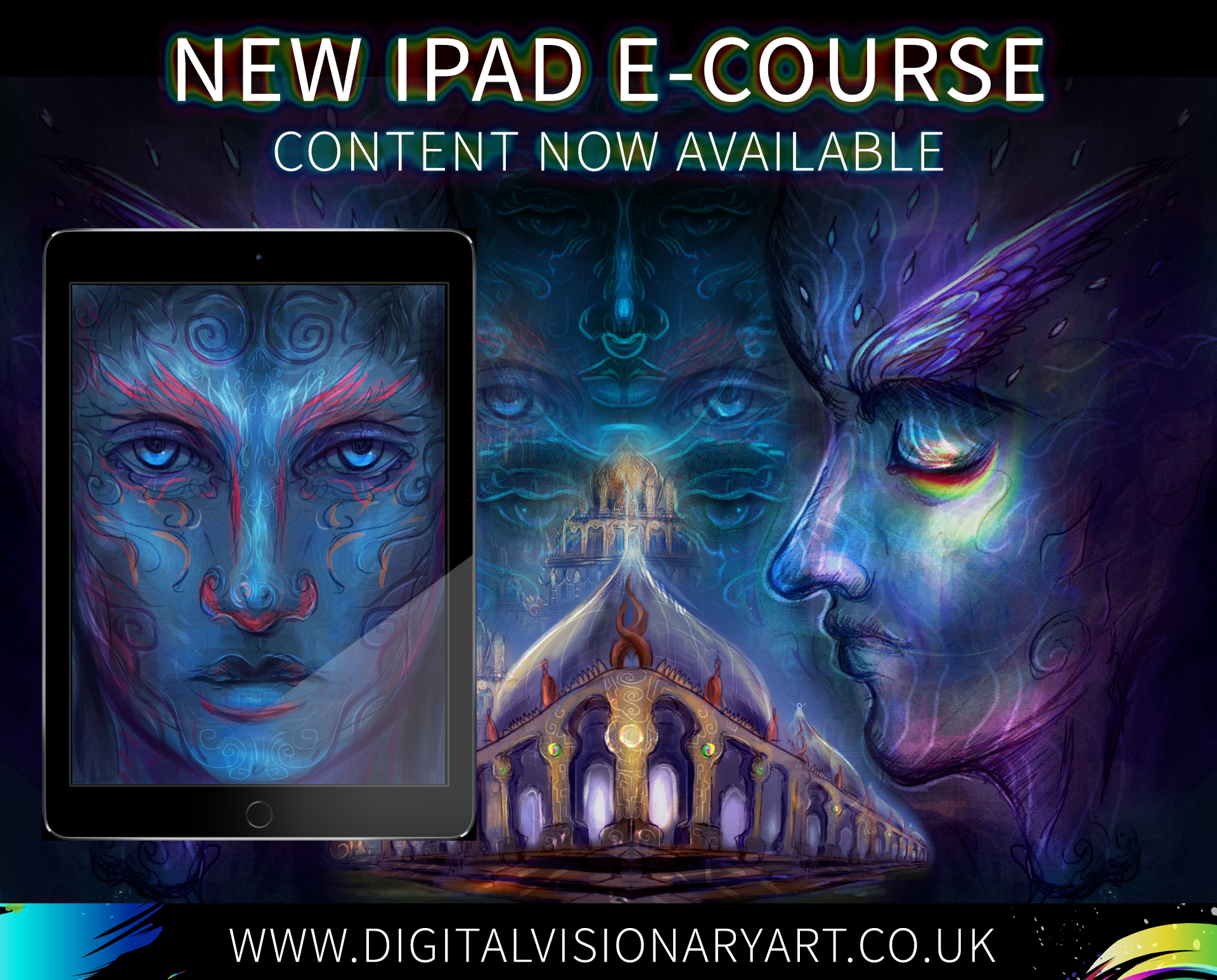 Learn how to create digital art on your iPad
